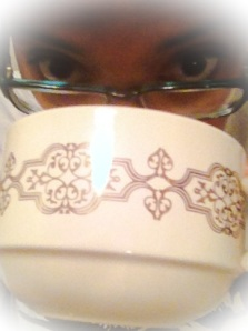& yes, my coffee cup is the size of my head.